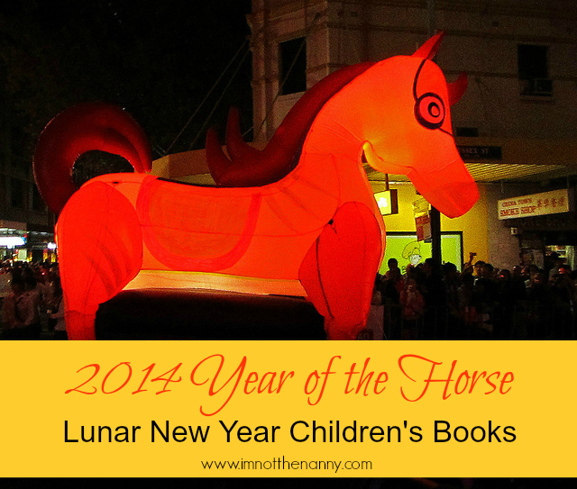 Year of the Horse Lunar New Year Childrens Books