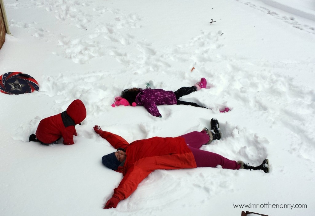 Making Snow Angels-I'm Not the Nanny