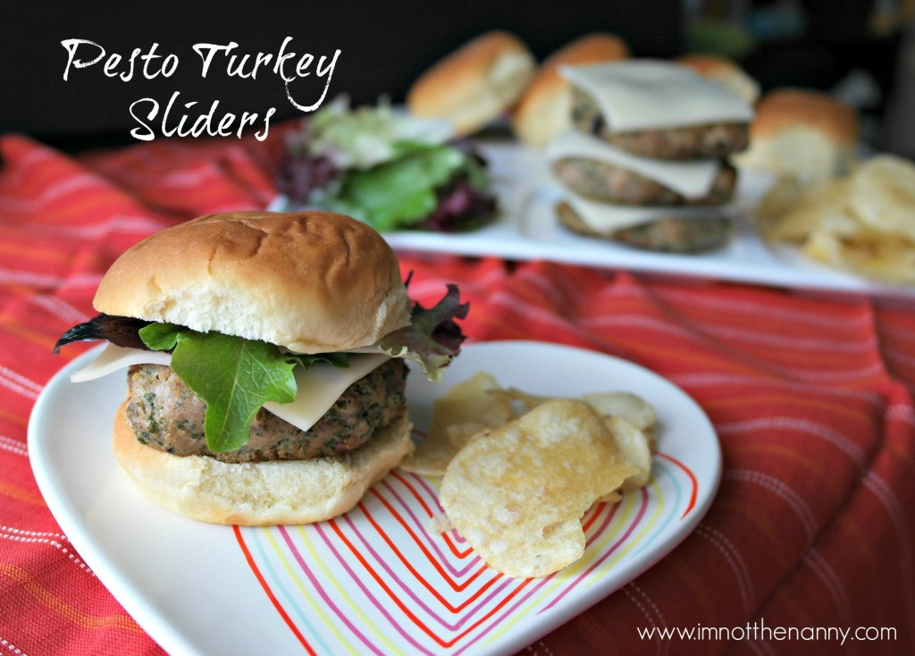 Buitoni Pesto Turkey Sliders-I'm Not the Nanny #Valentines4All #shop #cbias