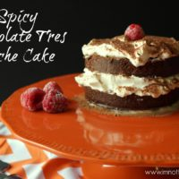 Spicy Chocolate Tres Leche Cake