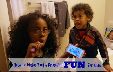 Make Tooth Brushing Fun For Kids-I'm Not the Nanny