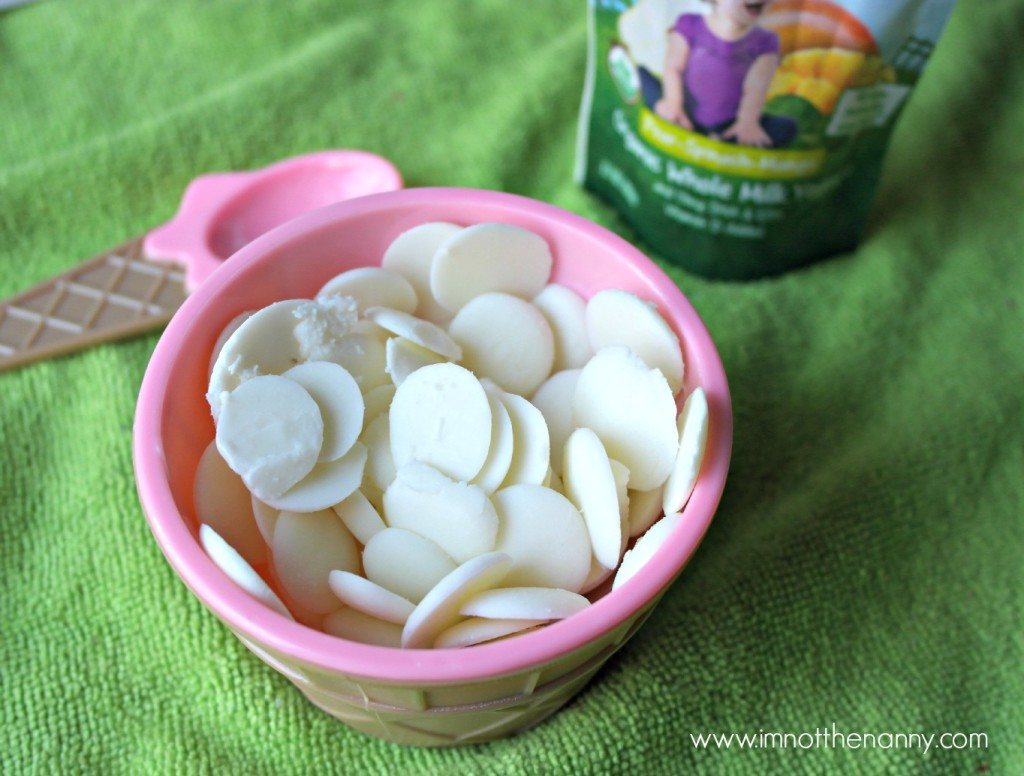 Easy Frozen Yogurt Dots Recipe-I'm Not the Nanny