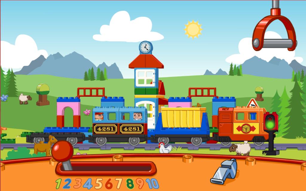 Lego Duplo Train Preschool App Screenshot