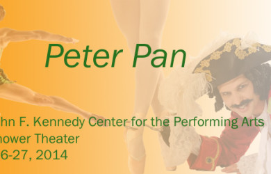 The Washington Ballet's Peter Pan at Kennedy Center