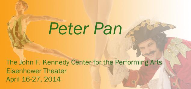 The Washington Ballet's Peter Pan at Kennedy Center