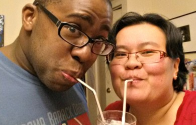 Thien-Kim and Hubby-I'm Not the Nanny
