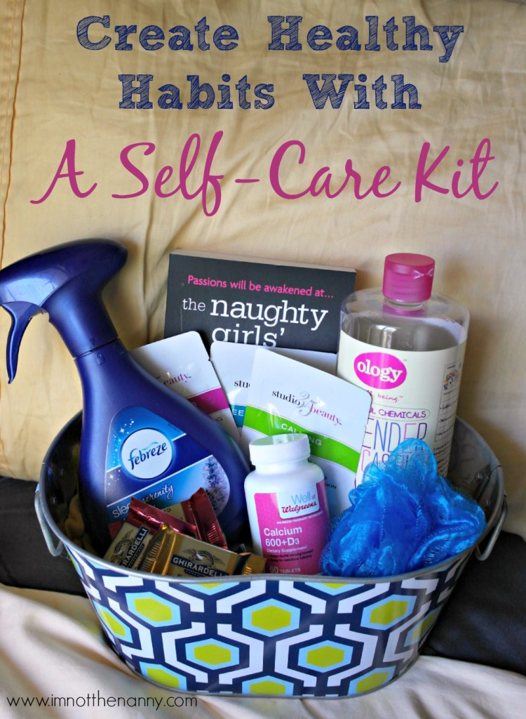 Create Healthy Habits with a Self-Care Kit #HerHealth #CollectiveBias-I'm Not the Nanny