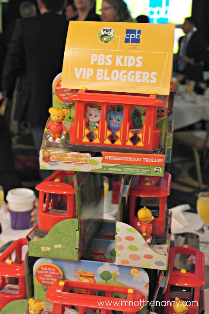 Daniel Tiger PBS Kids Annual Meeting-I'm Not the Nanny
