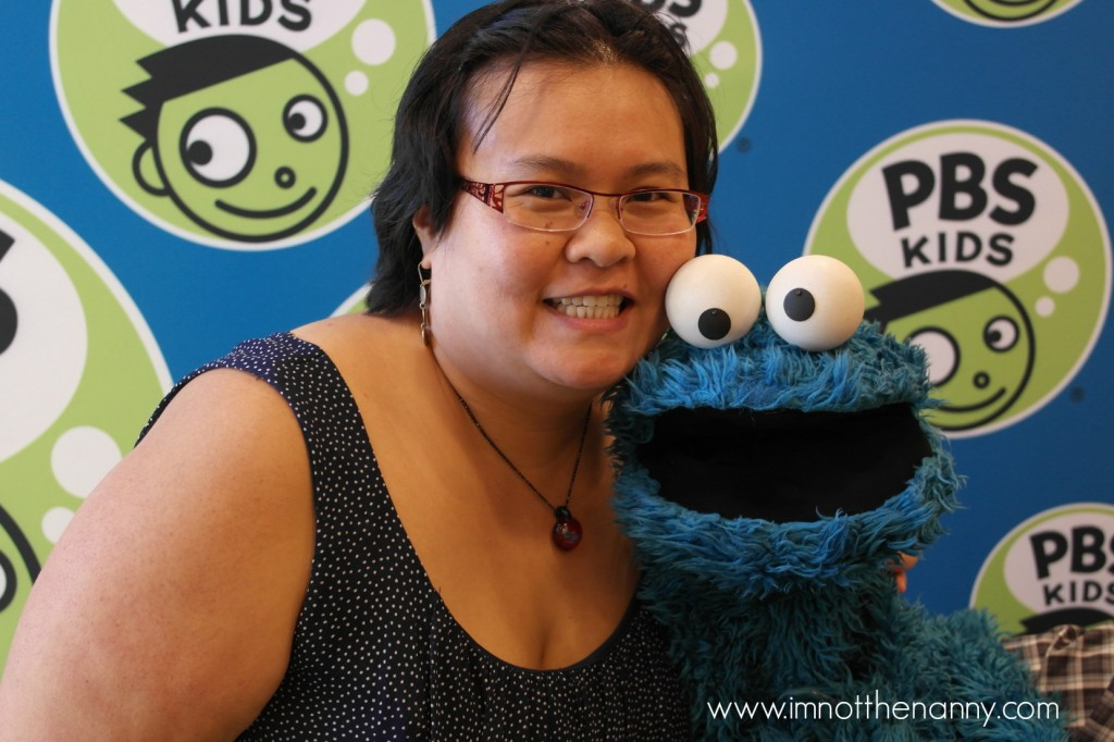 Thien-Kim and Cookie Monster-I'm Not the Nanny