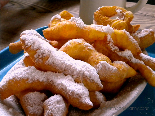 Beignet Fingers at Coffee Call