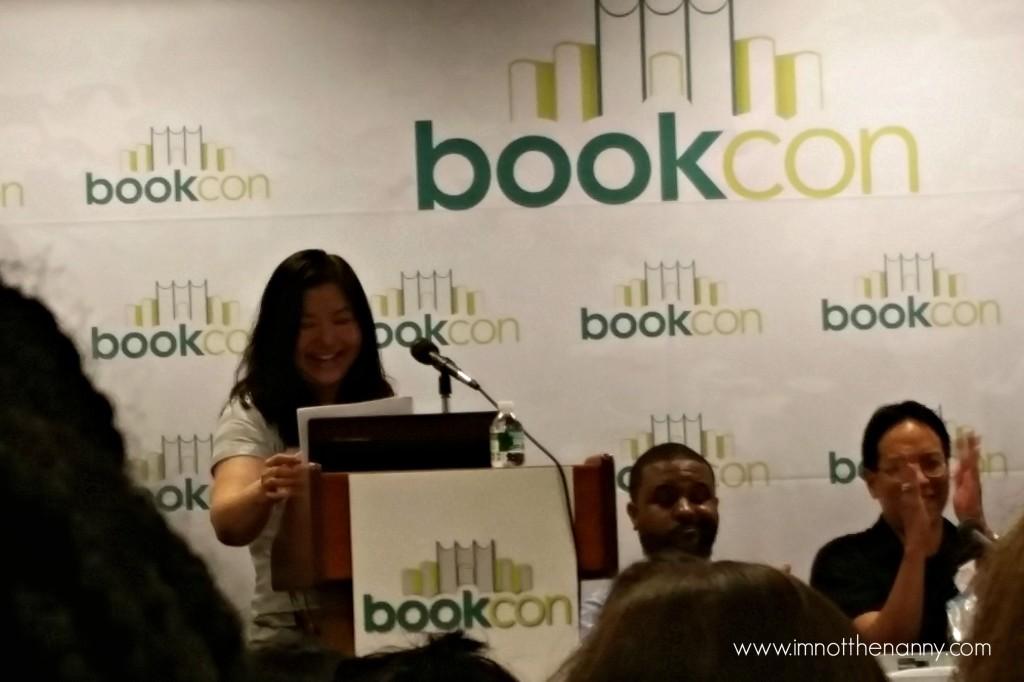 Ellen Oh at #WeNeedDiverseBooks BookCon Panel-I'm Not the Nanny