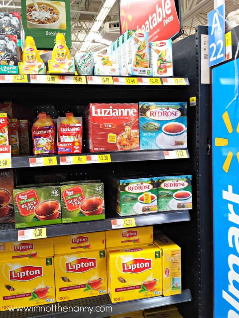 Lipton Tea & Honey at Walmart--I'm Not the Nanny #TEArifficPairs #shop