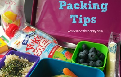 Bento Lunch Box Packing Tips #RocktheLunchbox-I'm Not the Nanny