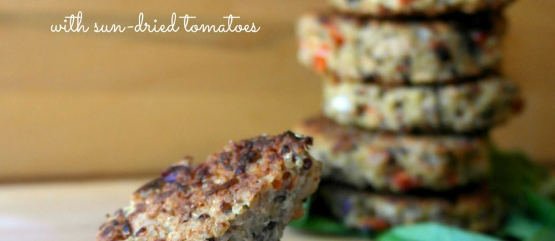 Easy Gluten Free Tuna Quinoa Patties with Sun Dried Tomatoes Recipe-I'm Not the Nanny