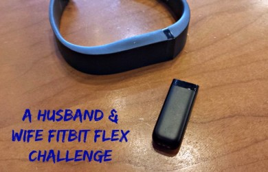 Husband Wife FitBit Flex Challenge-I'm Not the Nanny