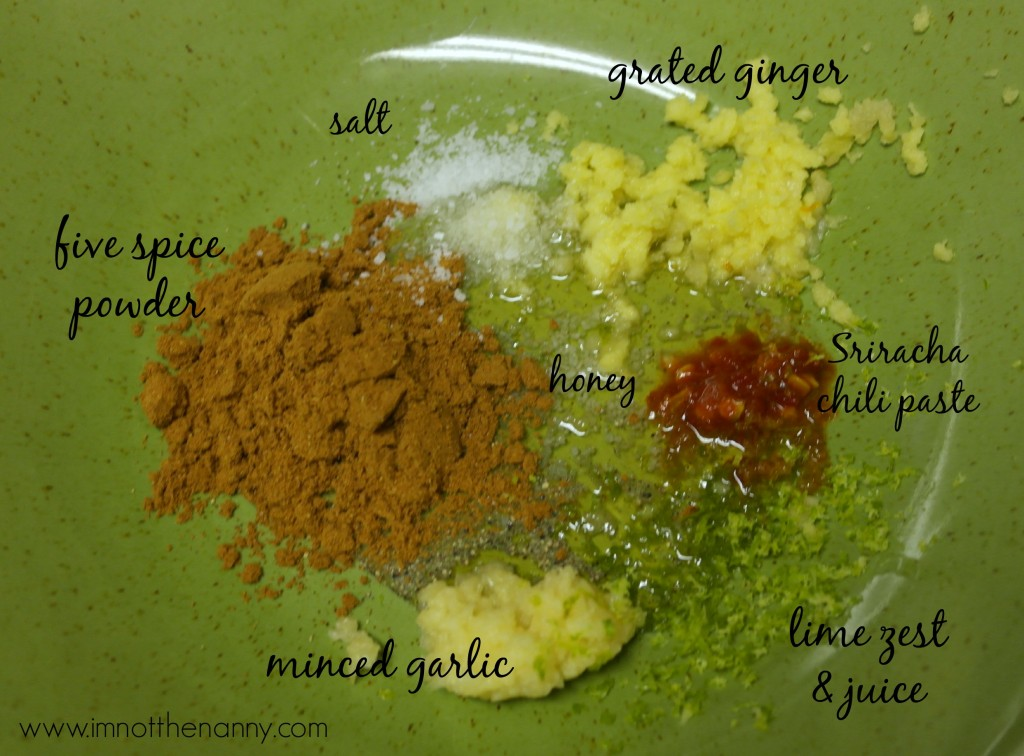 Easy Vietnamese Steak marinade ingredients