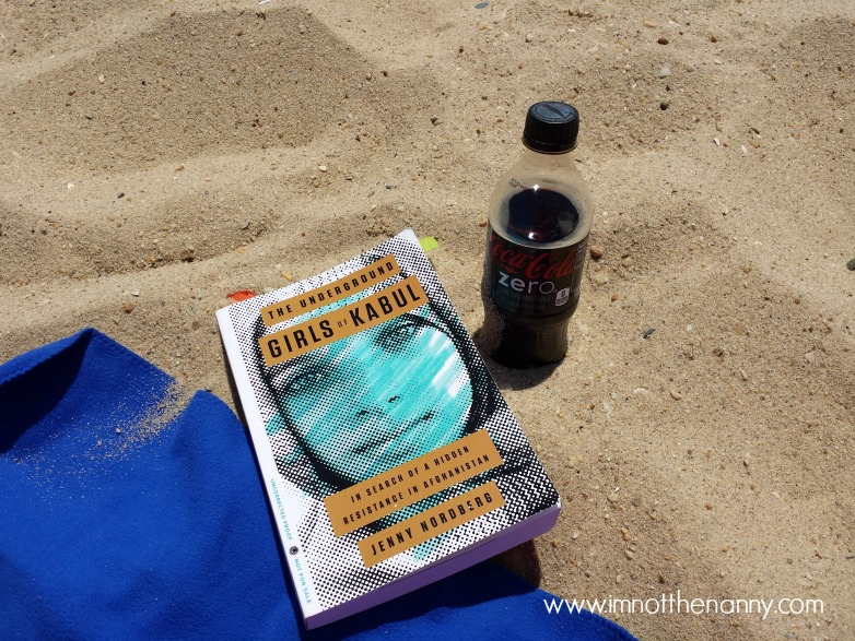 Reading at the Breezy Point Beach--I'm Not the Nanny