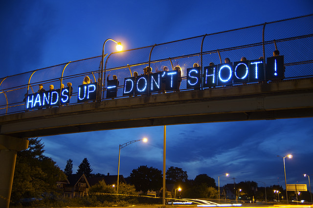 Standing with Michael Brown by Light Brigading