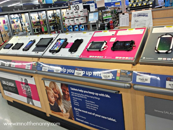 T-Mobile #TabletTrio In Store Display-I'm Not the Nanny #cbias