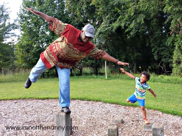 Keeping Balance-I'm Not the Nanny