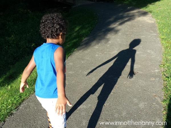 Walking at the park-I'm Not the Nanny