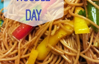 Celebrate National Noodle Day-I'm Not the Nanny