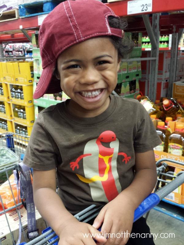 Jaxson smiling-I'm Not the Nanny