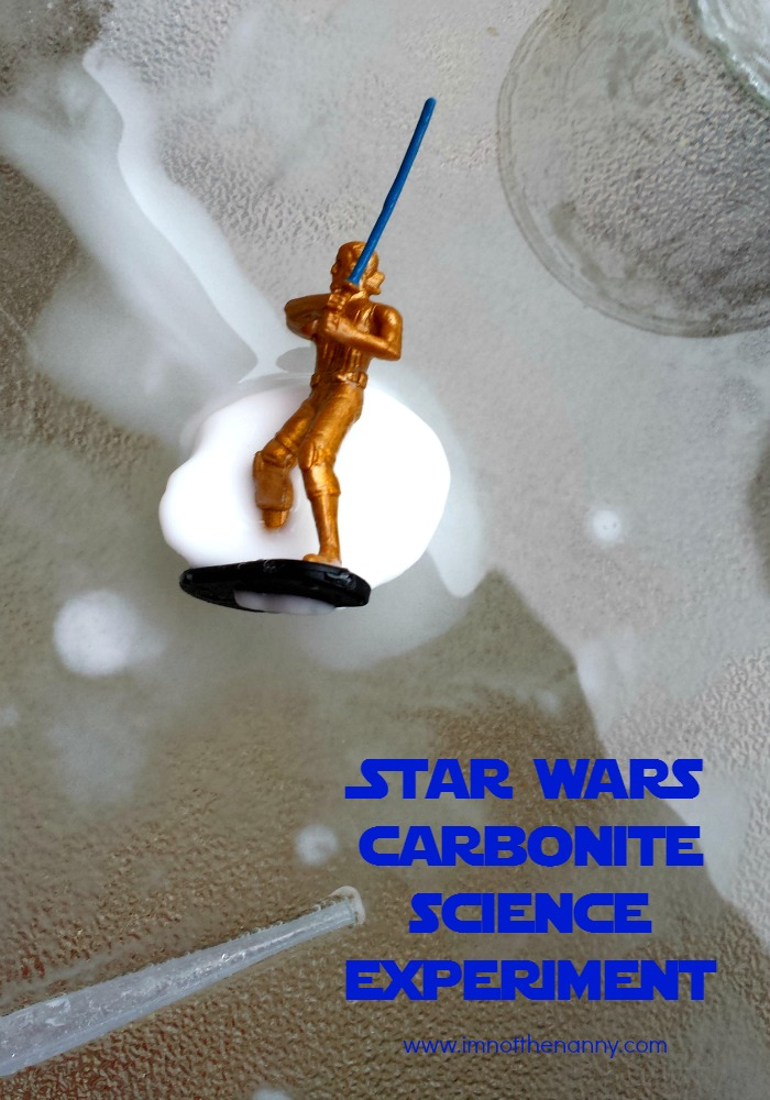 Star Wars Carbonite Science Experiment  #SparkRebellion #shop from I'm Not the Nanny