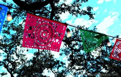 Dias de los muertos banner San Antonio-I'm Not the Nanny