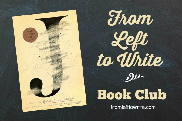 J Howard Jacobson Book Club Banner FL2W