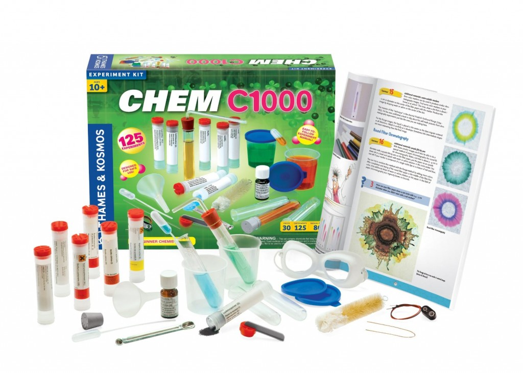 Thames and Kosmos Chemistry Set