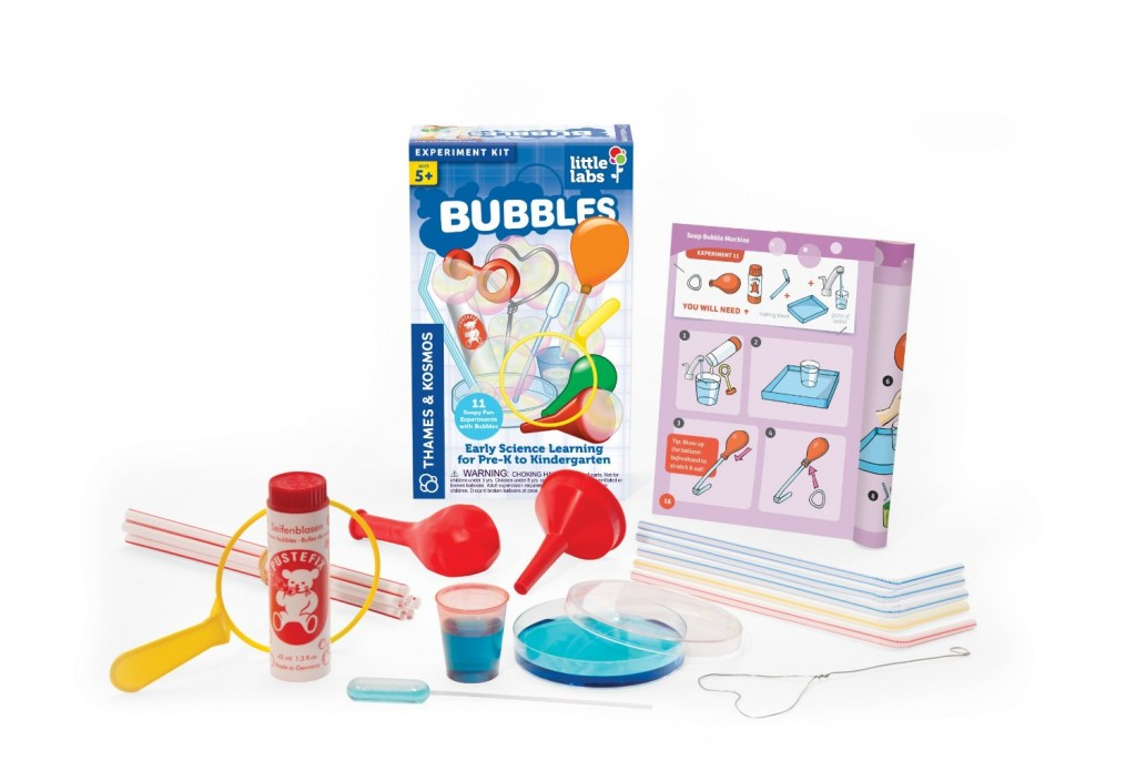 Thames and Kosmos Little Labs Bubbles Science Kit