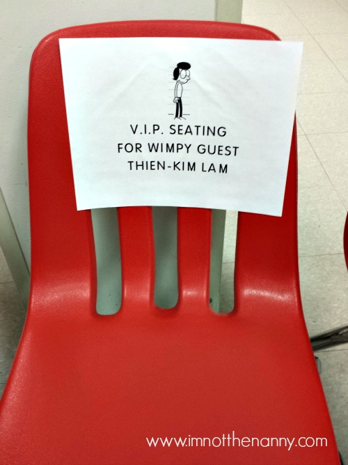 Wimpy Guest Seating