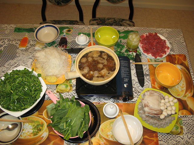 Family Soup Hot Pot by ssour