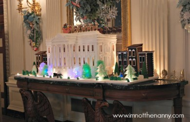 Gingerbread White House #WHHolidays at I'm Not the Nanny
