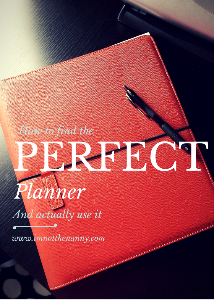 How to Find the Perfect Planner