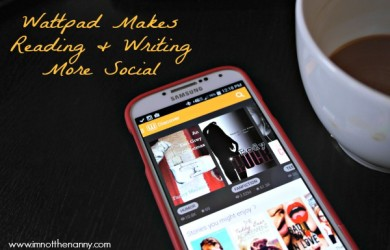 Wattpad Makes Reading Writing Social via I'm Not the Nanny