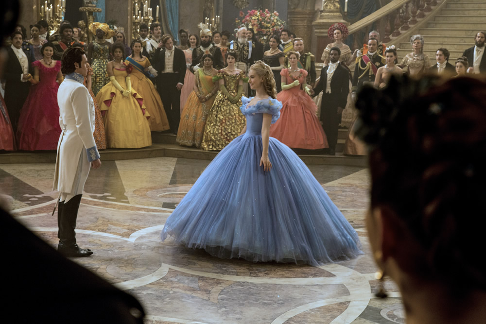 Cinderella at the Ball photo via Disney