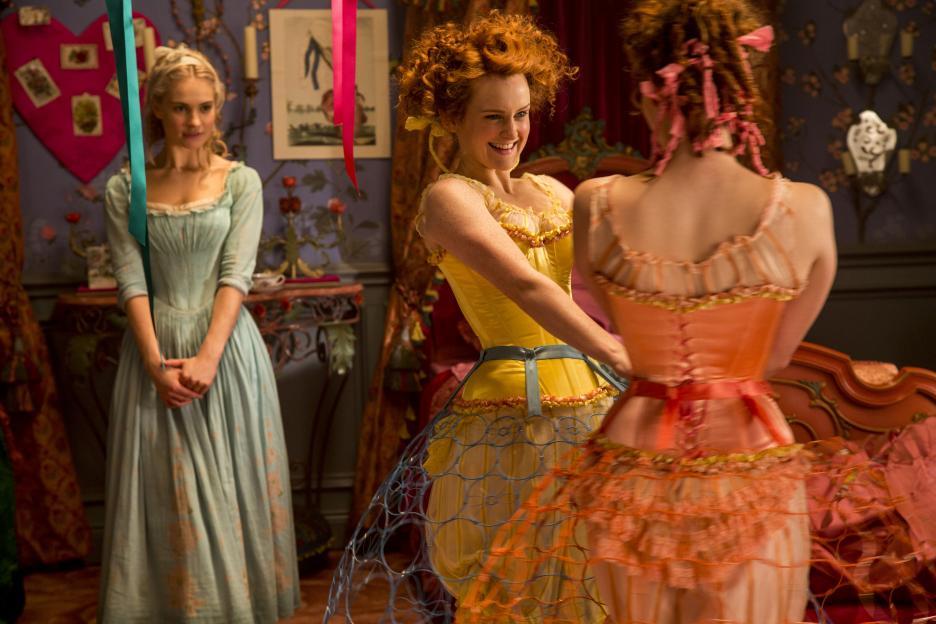 Cinderella stepsisters dress colors for dark