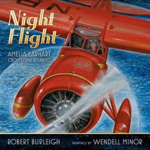 Night Flight Amelia Earhart Crosses the Atlantic