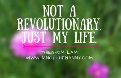 My six word memoir via I'm Not the Nanny