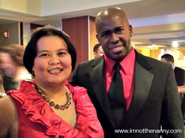 Thien-Kim and Husband at holiday party