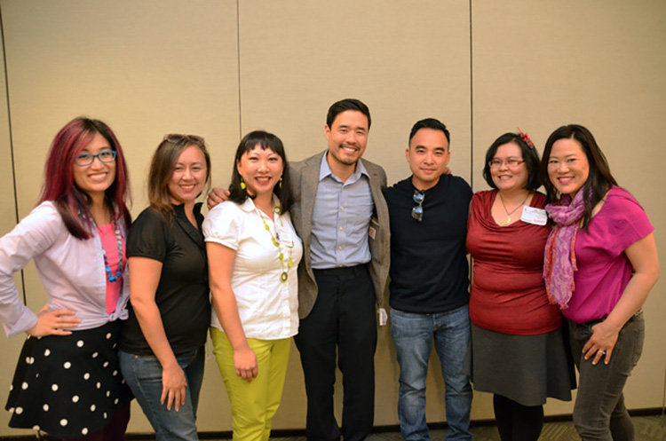 AAPI Bloggers and Randall Park, Melvin Mar of Fresh Off the Boat