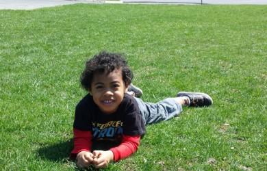 Jaxson at the park