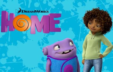 Dreamworks Home movie