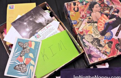 Box Full of Letters at I'm Not the Nanny