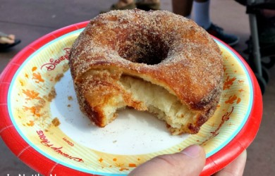 Croissant Donut at Epcot World Showcase
