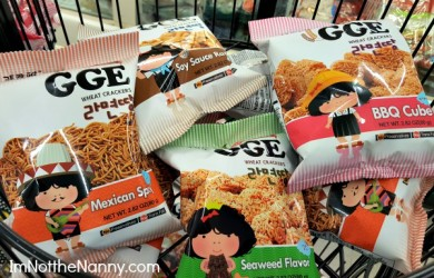 GGE Wheat Crackers at HMart