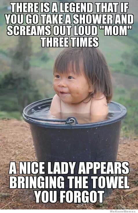 Call Mom Shower Meme #RefreshYourFunny #TalkEarly