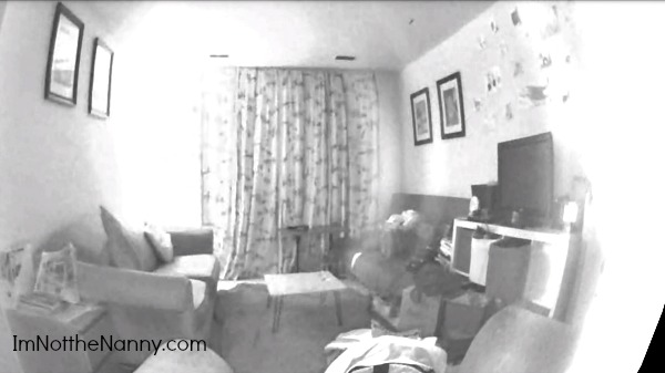 Cleaner living room from Piper nv camera via I'm Not the Nanny